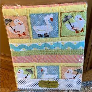 MacKenzie-Childs Duck Duck Goose quilt